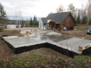 huismanconcepts.com, infloor heated slab on custom construction
