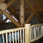 Log railings and Trusses