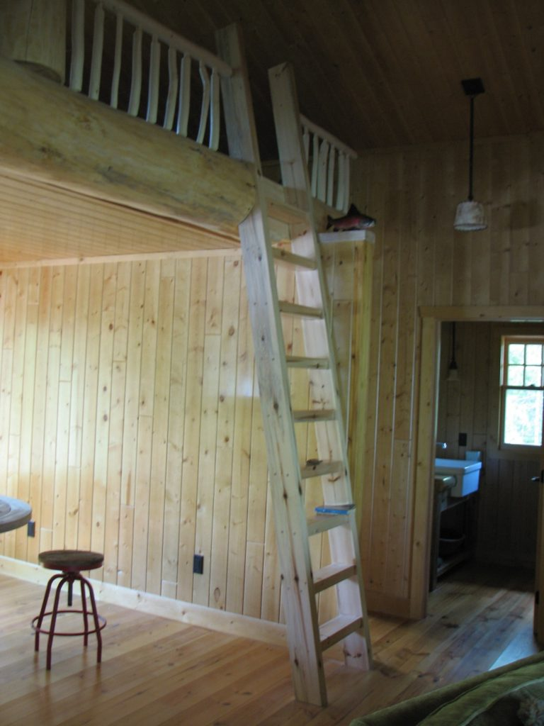 Ladder to kids loft